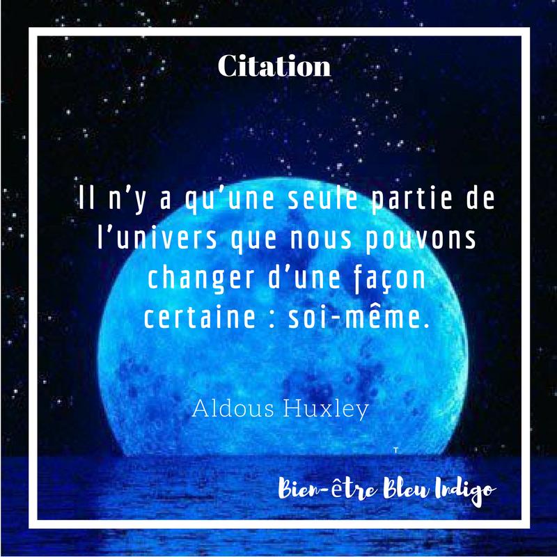la lune bleue Citation changement