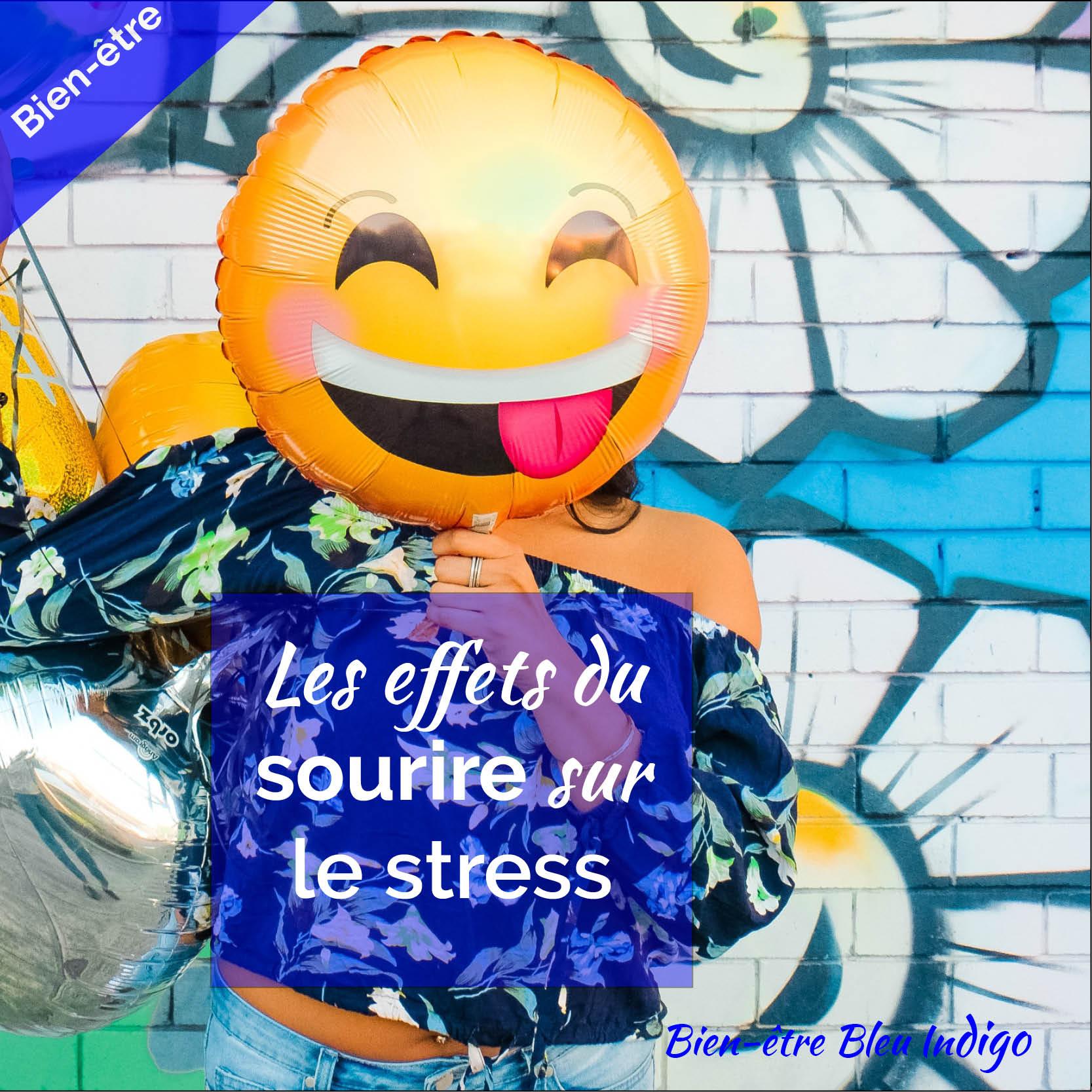 sourire et stress