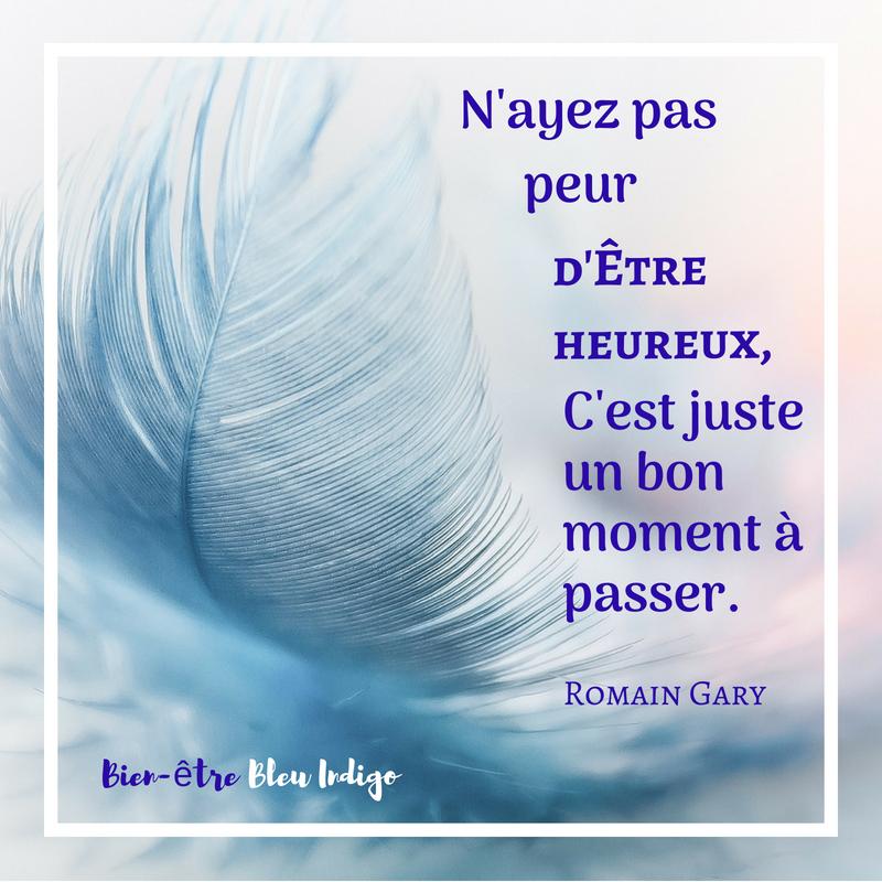 Citation Romain Gary heureux