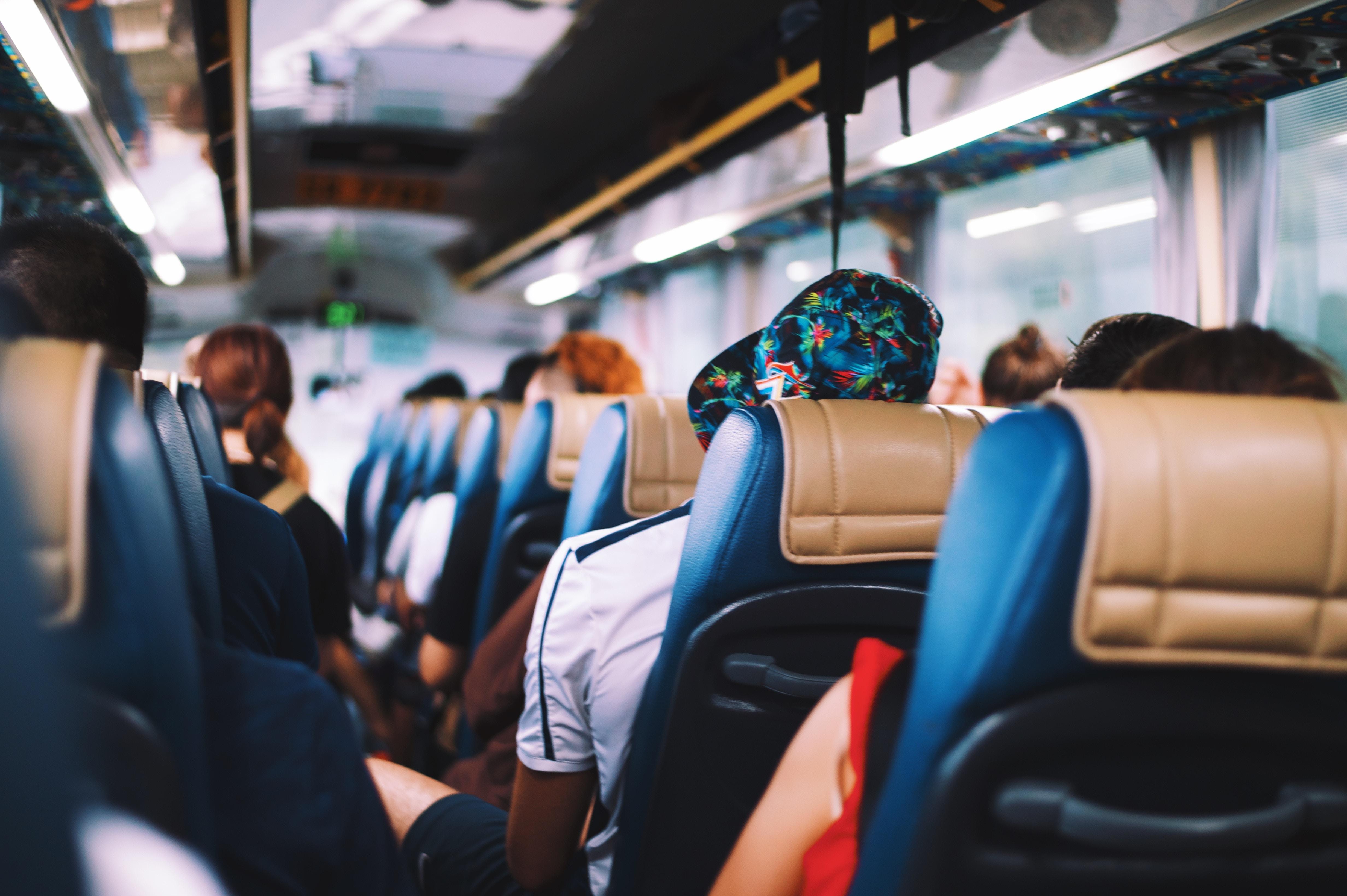 passager du bus métaphore du bus