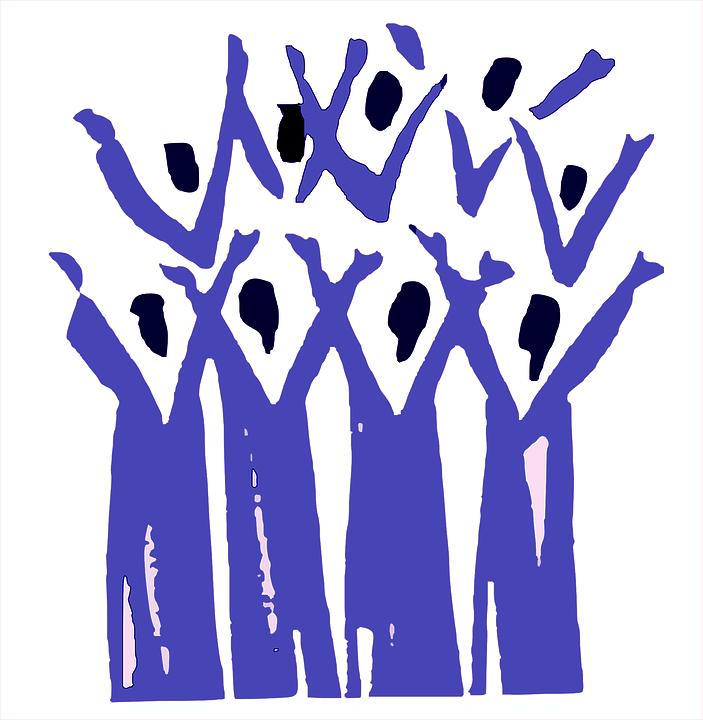 illustration chorale chant bien-être
